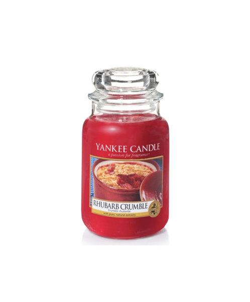 Yankee Candle ароматна свещ RHUBARB CRUMBLE
